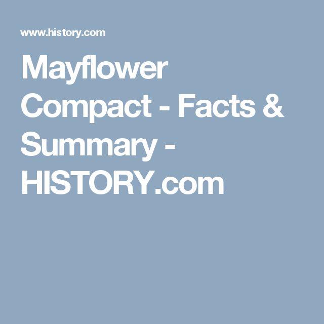 Mayflower Compact - Facts & Summary - HISTORY.com