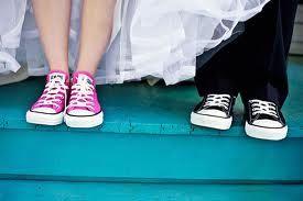 converse shoe wedding - Google Search