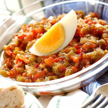 salade mechouia tunisian food