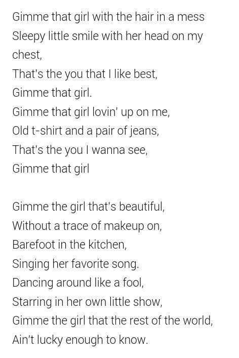 Gimme that girl - Joe Nichols :)