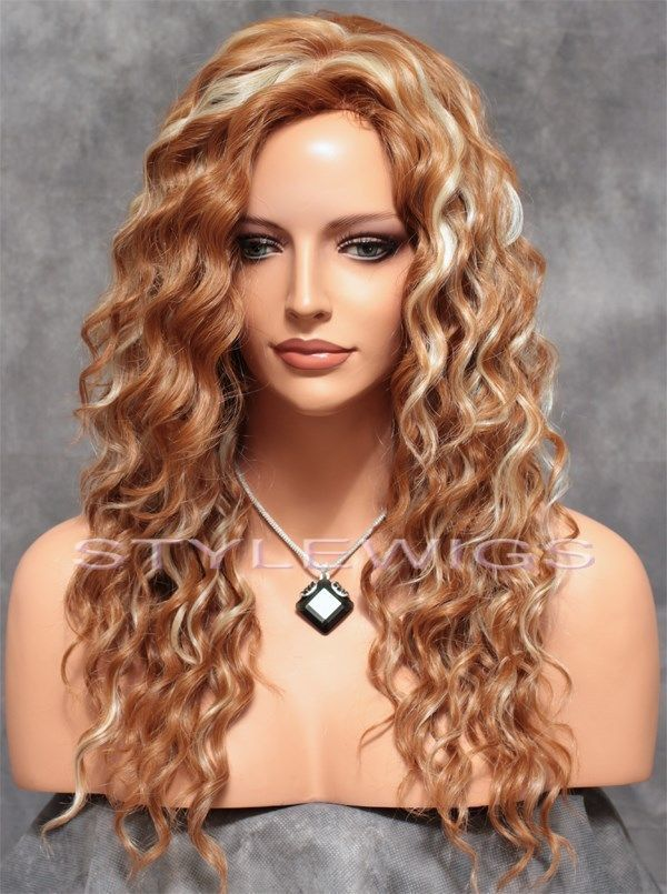 Curly Strawberry Blonde Hair 22