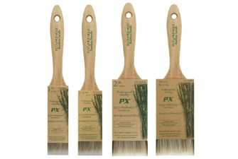 Bamboo Paint Brushes - made from bamboo, recycled steel and synthetic bristles. £3.95