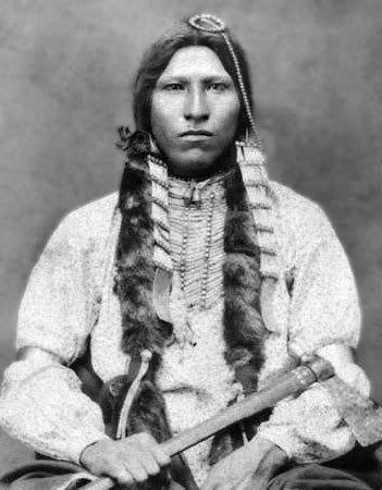 Northern-Cheyenne Chief Red Blanket