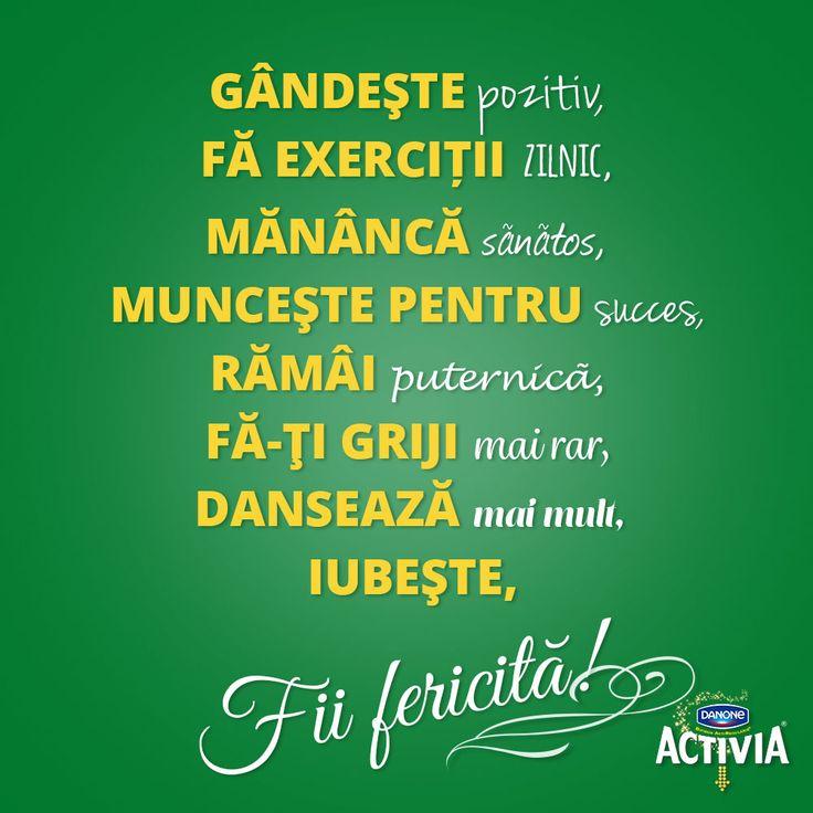 Binele interior se vede la exterior. Activia e gata să te ajute!  #ActiveazaStareaDeBine #ProvocareaActivia  www.activia.ro/ProvocareaActivia/blog