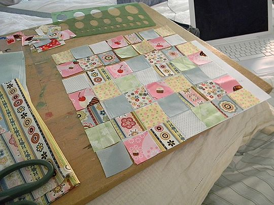 Layout Basics for Miniature Dollhouse Quilts