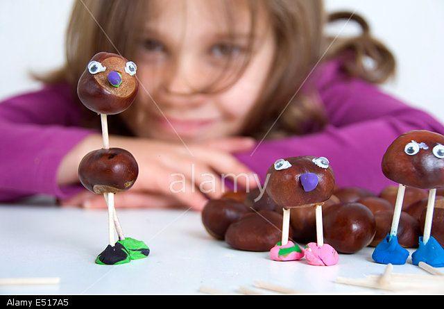 Tinker chestnut figures _Gastan chestnut diy
