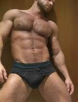 Hairy chest muscle with underwear. | Very Man | Pinterest