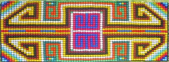 Tejido en chaquiras y mostacil - artesanum com