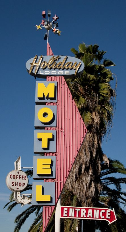 Holiday Lodge Motel ~ Los Angeles CA