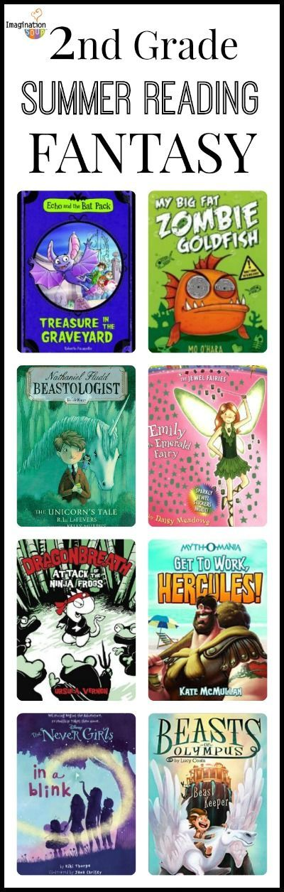 2nd Grade Summer Reading List - look on this post for funny, realistic, and adventure books, too - LOVE this!!