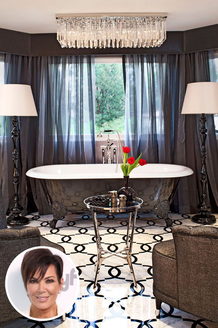Kris Jenner- Designed by Jeff Andrews.   - HarpersBAZAAR.com