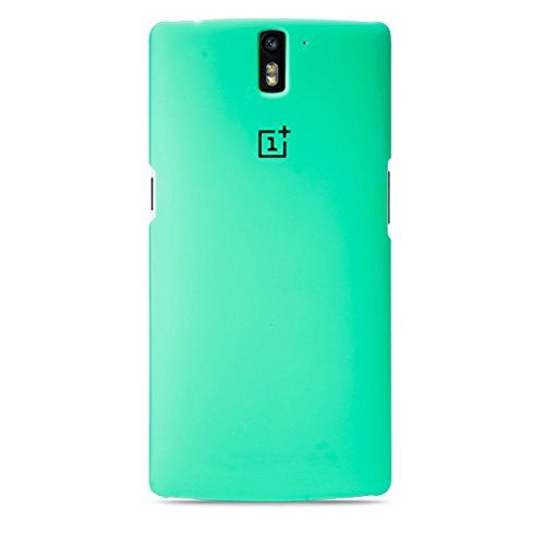 Generic Protective Back Case for Oneplus One Cellphone (Green)