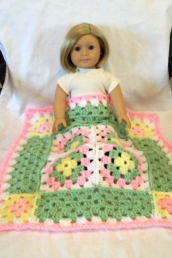 American Girl 18 inch Doll size Crochet Granny by AmazinMaisie