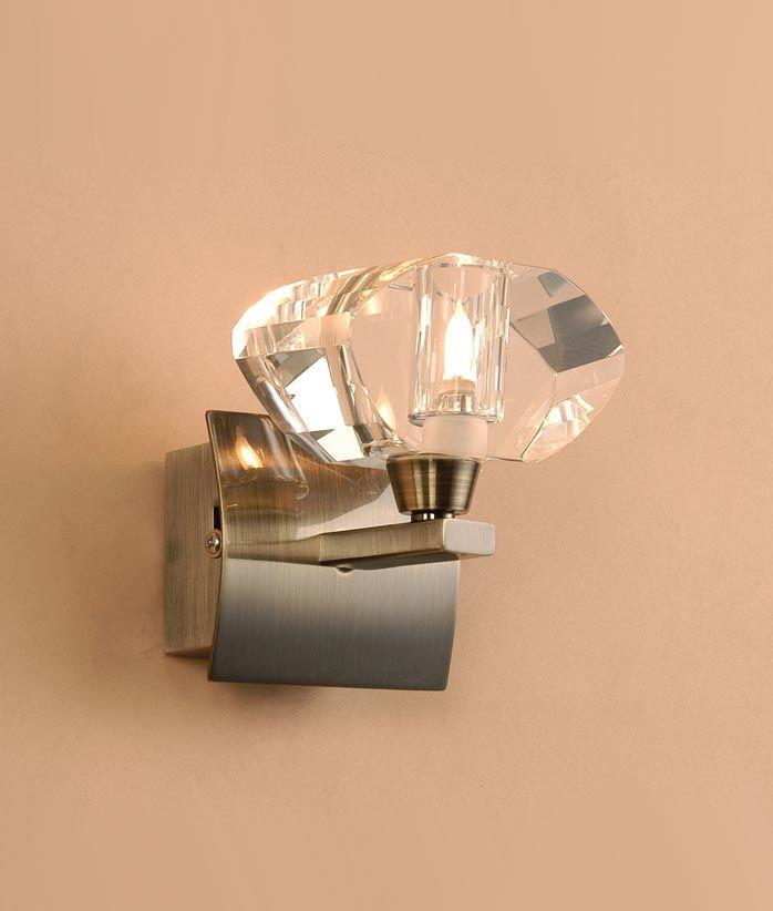 Aplique cuero 1 luz ALFA - La Casa de la Lámpara