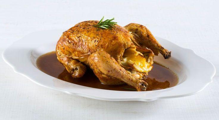 Como assar um frango no forno