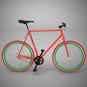 Bike by Me 2010 Red Green BlackBikes