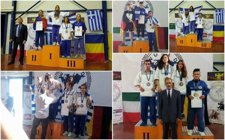 """Χρυσοί πρωταθλητές Ευρώπης οι Αυγή Θεοδωρίκα και Πέτρος Καφετζής του ΑΣΒ """"ΗΜΑΘΙΩΝ"""""""