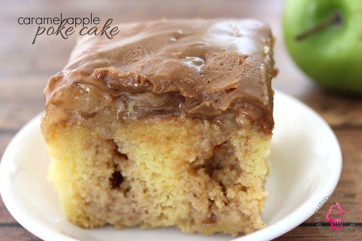 Apple Poke Cake Recipe V