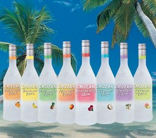 Cruzan Rum...Banana and Black Cherry are my favorites but I will gladly drink any of them! :D Best flavored rum out there. BEST. :)