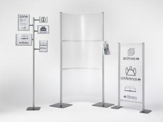 brochure display rack EASY WALL Emme Italia