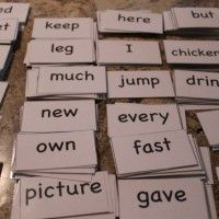 FREE Sight Words Flash Cards from HappyandBlessedHome.com
