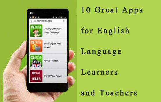 10 Great Apps for English Language Learners and Teachers - learn English,english,apps,learn