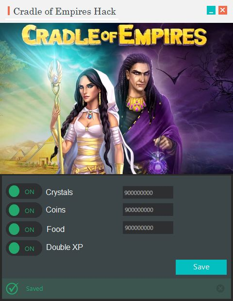Cradle of Empires Hack Tool ~ 23 gp king