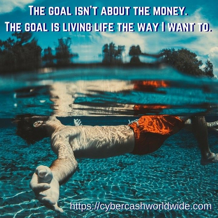 The goal isnt about the money. The goal is living life the way I want to. #motivation #success #inspiration #inspirational #entrepreneur #business #quotes #positivechange #positivity #lifestyle #successful #quoteoftheday #quote #money #entrepreneurship #life #entrepreneurs #believeinyourself #happiness #bedifferent #passion #work #grind #inspire #entrepreneurlife #goals #success #successquotes #instagood #wealth  http://ift.tt/2mogjuc