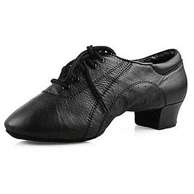 Sapatos+de+Dança(Preto)+-Masculino-Personalizável-Latina+/+Tênis+de+Dança+/+Moderna+/+Salsa+–+EUR+€+44.97