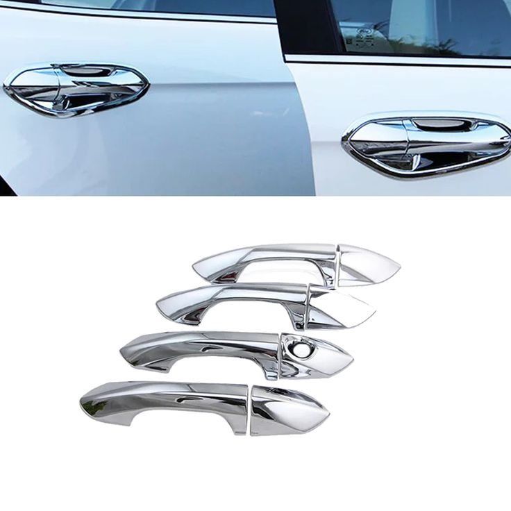 New 8pcs ABS Chrome Car Door Handle Cover Trim For Ford Ecosport 2013 2014 2015 Ford Fiesta 2009 2010 2011 2012 2013 2014 2015  #Affiliate