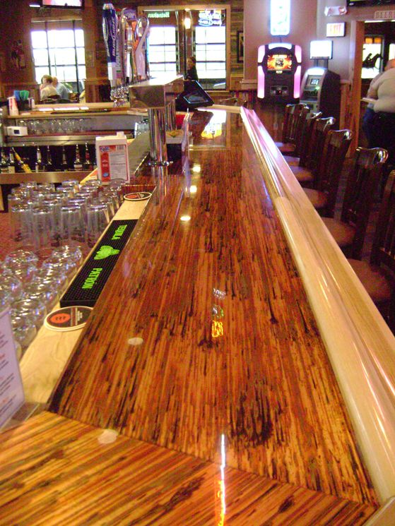 Beautiful Bar Top!