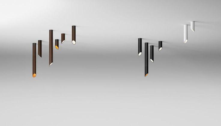 Lampa wewnętrzna, sufitowa Vibia 45º 8250, 8251, 8252 id:30 | Wszystkie Lampy wewnętrzne \ LAMPY SUFITOWE Kolekcje \ VIBIA
