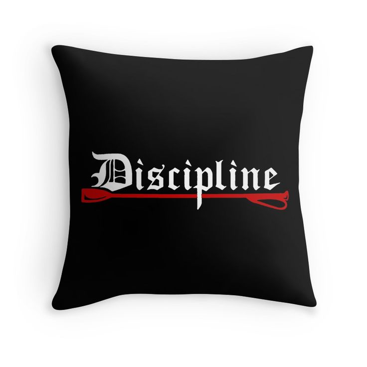 Discipline, BDSM whip fetish throw #pillow  20% off everything. Enter YOUEARNEDIT at checkout.