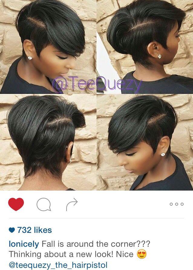 25+ best ideas about Short Black Hairstyles on Pinterest
