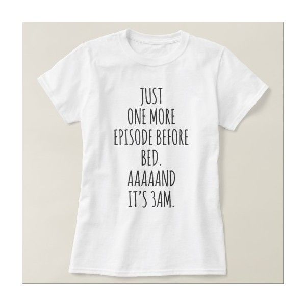 Binge Watching Addict Funny Pajama Shirt ($20) ❤ liked on Polyvore featuring intimates, sleepwear, pajamas, holiday pjs, holiday pajamas, pj tops, holiday sleepwear and long pajamas