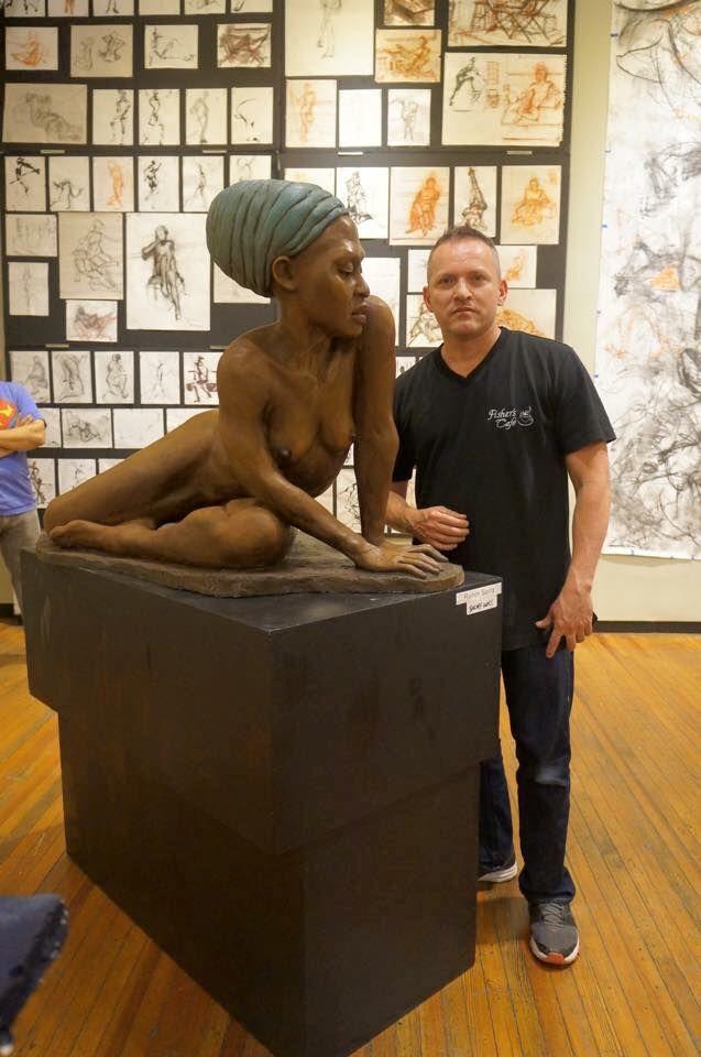 Ramon Sierra escultor colombiano