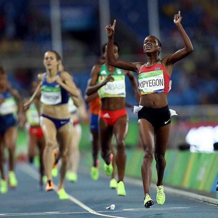 Striding into the weekend like    Women's Olympic 1500M Results Faith Kipyegon |  KEN |  4:08.92 Genzebe Dibaba |  ETH |  4:10.27 Jenny Simpson |  USA |  4:10.53 4 Shannon Rowbury |  USA |  4:11.05 5 Sifan Hassan |  NED |  4:11.23 6 Meraf Bahta |  SWE |  4:12.59 7 Laura Muir |  GBR |  4:12.88 8 Dawit Seyaum |  ETH |  4:13.14 9 Besu Sado |  ETH |  4:13.58 10 Sofia Ennaoui |  POL |  4:14.72 11 Laura Weightman |  GBR |  4:14.95 12 Rababe Arafi |  MAR |  4:15.16