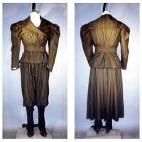 Ladies' 1890's Sporting Costume from Laughing Moon