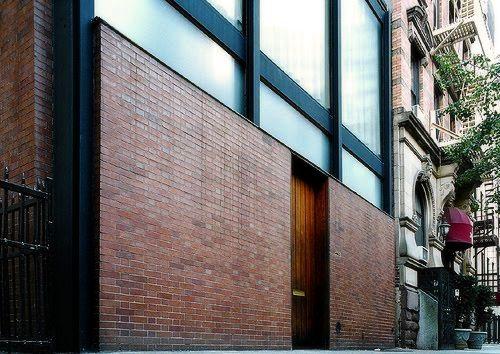 Philip Johnson, Rockefeller Guest house, New York, USA, 1949-1950 Филип Джонсон, Гостевой дом Эбби Рокфеллер, Нью-Йорк, США, 1949-1950 #Philip #Johnson #Rockefeller #architectural #bureau #Pritzker #Филип #Джонсон #Рокфеллер #архитектурное #бюро #Прицкеровская