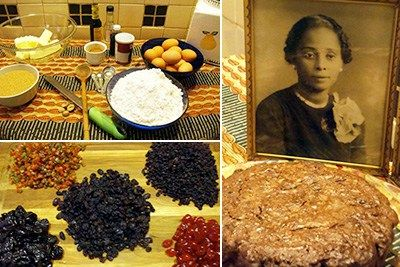 Una Rust's Jamaican Black Cake was legendary in her family. Credit: Suzanne Rust