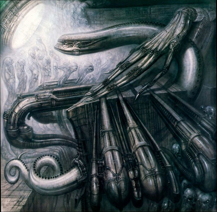 MONSTER III.........BY H.R. GIGER.........SOURCE BING IMAGES..........