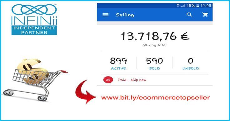 Συγχαρητήρια Στον Giorgos Μέλος του INFINii Για Τα Αποτελέσματα Σου! => Για περισσότερες πληροφορίες επισκεφτείτε το Sait μας http://bit.ly/ecommercetopseller => Κάντε Like και Share στην επίσημη σελίδα μας στο Facebook https://www.facebook.com/ecommercetopseller/ => Βρείτε μας και στο Twitter https://twitter.com/ecommercetopsel =>Στο Google Plus http://bit.ly/goplusgle => Και στο pinterest https://gr.pinterest.com/ecommercetopseller #amazon,#ebay,#infinii,#ecommerce,#ECommerce, #Marketing…