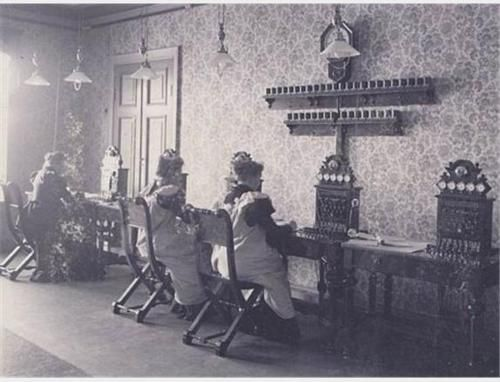 Helsinki Long Distance Telephone Station 1898.