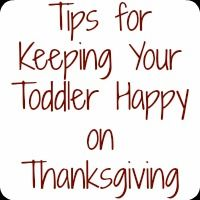 keeping your toddler happy on Thanksgiving - Nap Time Is My Time