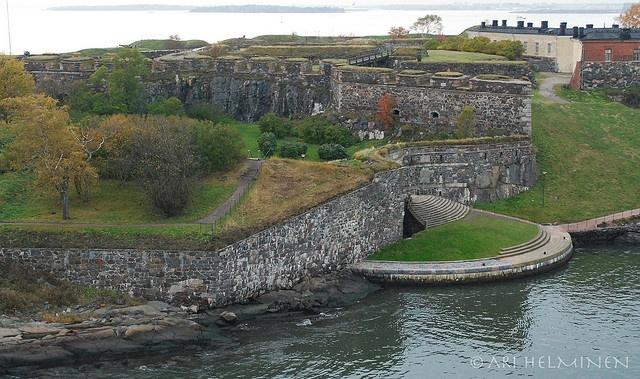 Suomenlinna, The fortress island of Helsinki Finland.