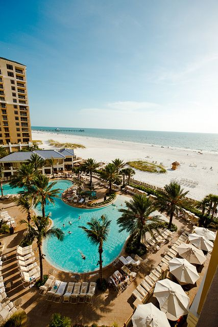 Taking in the @Sandpearl Resort on Clearwater Beach.                                                                                                                                                      More