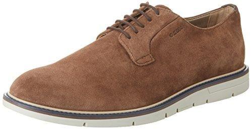 Oferta: 115€ Dto: -44%. Comprar Ofertas de Geox U Uvet B, Zapatos de Cordones Derby para Hombre, Marrón (Ebonyc6027), 43 EU barato. ¡Mira las ofertas!
