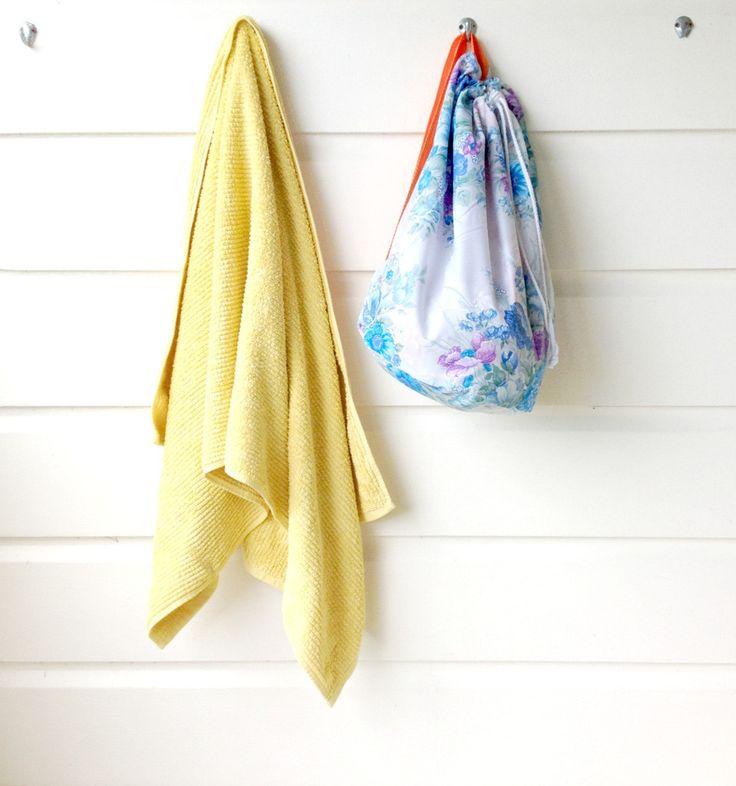 Blue swimming bag | Emma Makes $39