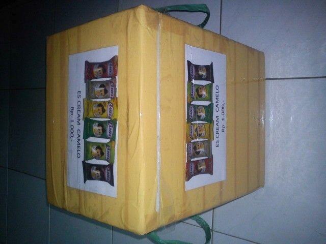 Kotak sterofom modif