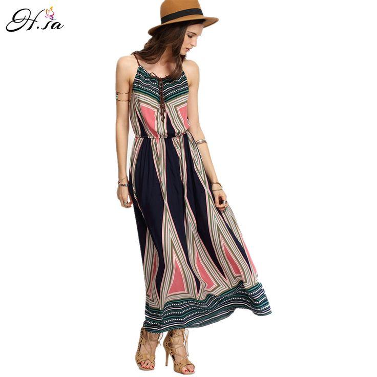 vestido de festa 2017 Women Summer Dress Sexy Bohemian Beach Dresses Pleated Maxi Long Beach Robe Sexy praia vestido festa